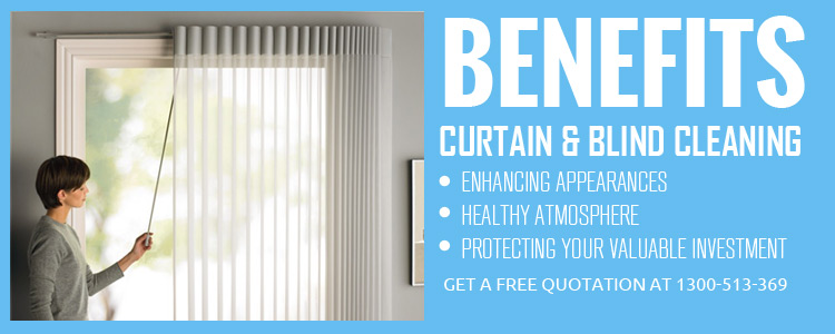 Curtain Steam Cleaning Mooloolaba