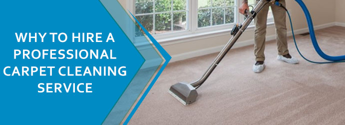 WHY TO HIRE A PROFESSIONAL CARPET CLEANING SERVICE