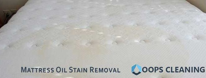 Mattress Oil Stain Removal