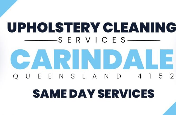 Upholstery Cleaning Carindale